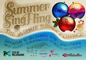 Summer Sing Fling